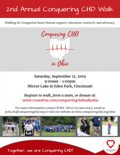 Conquering CHD Walk Ohio