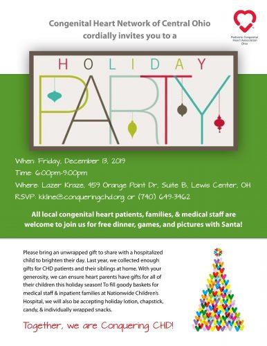 PCHA-OH Columbus Holiday Party