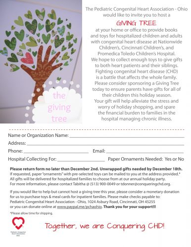 Giving Trees for PCHA-OH