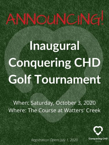 Inaugural Conquering CHD Texas Golf Tournament