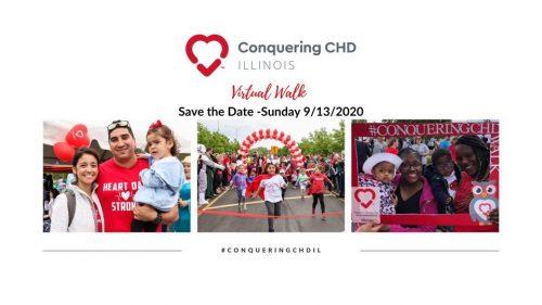 Conquering CHD- Illinois Virtual Walk