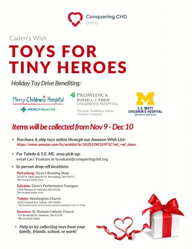 NW Ohio Holiday Toy Drive