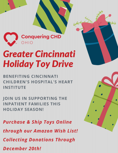 Greater Cincinnati Holiday Toy Drive