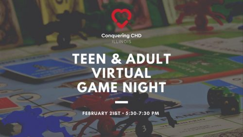 Teen & Adult Virtual Game Night with CCHD IL