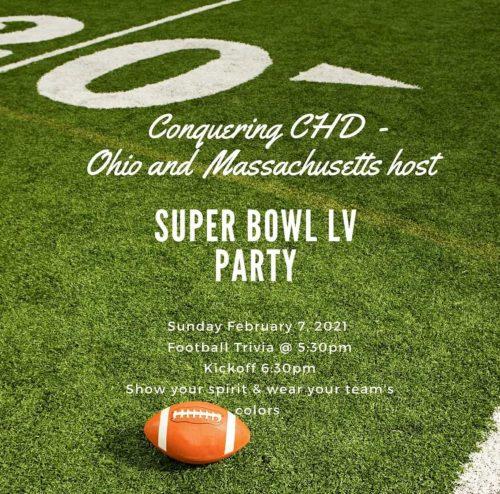 CCHD-OH & MA Hosts: Super Bowl LV Party
