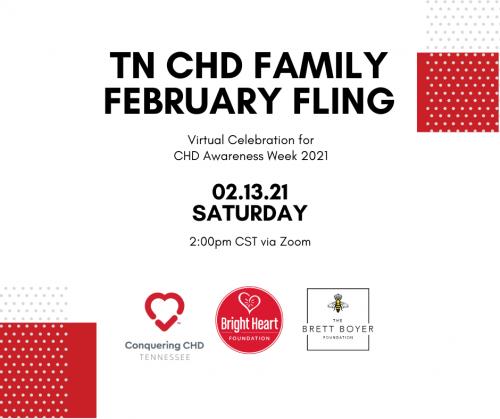 TN CHD Family February Fling