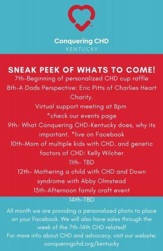 Sneak Peek for CHD Awareness week!