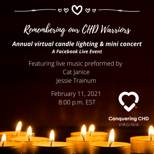 Remembering our CHD Warriors