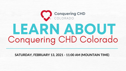 Heart Month Learn About Conquering CHD Colorado Presentation