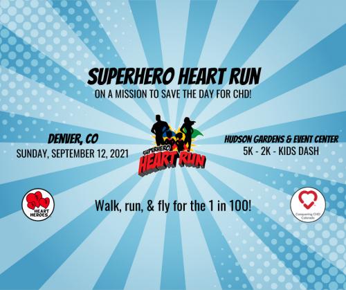 7th Annual Denver Superhero Heart Run